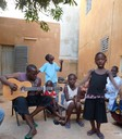 Lassi Diabate and daughter Ami (singing)